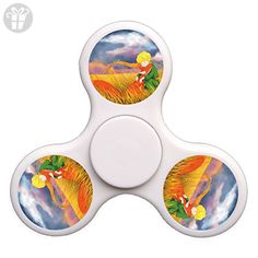 The Little Prince Fidget Spinner Nice EDC High Speed Stainless Steel Bearing ADHD Focus Anxiety Stress Relief Boredom Killing Time Hand Toys Great Gift-White - Fidget spinner (*Amazon Partner-Link)