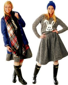 Fash Mob » Wellies for winter time . . .