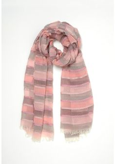 SCARF IN THE STRIP MIX