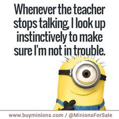 minions quote teacher