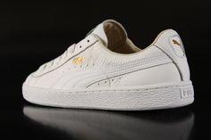 Puma Basket Sneaker All White