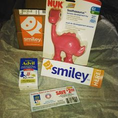 """http://h5.sml360.com/-/yt7t #TeethingDoesntHaveToBite #Advil #Nuk #smiley360 #freesample #Freebie #mailcall I received these products for free for testing…"""