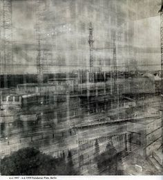 Unusually Long Exposure Photographs by Michael Wesely - With a pinhole camera (some exposed for more then 2 years! Exposure Photography, Artistic Photography, Art Photography, Motion Photography, Germany Photography, Experimental Photography, Multiple Exposure, Long Exposure, Idris Khan