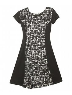 Black Buffalo Dress