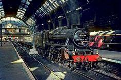 Last steam train from Bradford Exchange Station