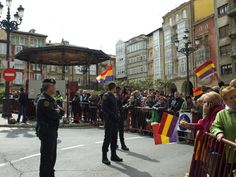 Isabel Canis Lupus, nos envía esta foto de la visita de Letizia a Haro (La Rioja).