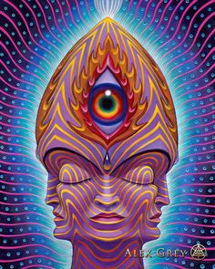 Steeple Head - Alex Grey
