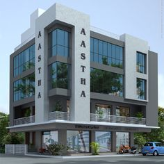 Nisarg Rachna Office Building Architecture, Building Exterior, Building Facade, Facade Architecture, Cladding Design, Facade Design, Exterior Design, Commercial Building Plans, Building Design Plan