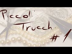 Piccoli trucchi #3 - YouTube Jewelry Box, Jewelery, Jewelry Making, Diy Jewellery, Crochet Collar, Beading Tutorials, Ring Bracelet, Helpful Hints, Diy And Crafts