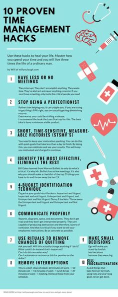 the proven time management hacks