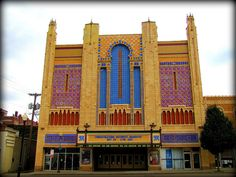 Vintage Movie Palaces - the Missouri Theater - St. Joseph, MO