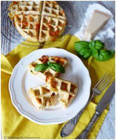 Kleines Kulinarium: Tomate Mozzarella Waffeln