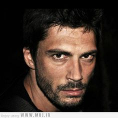 Pamir Pekin, Turkish actor, b. 1979 - how's this for a smoulder?
