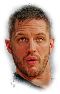 Tom Hardy sparkly eyes fan art