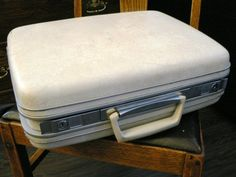Vintage luggage ... CARSON TRAVELITE by LandLockedCottage on Etsy ...