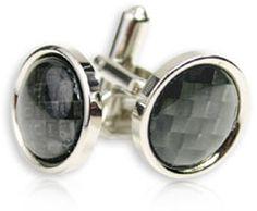 Cufflinks Carbon Fiber Style