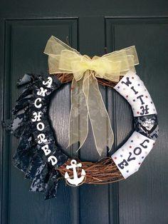 US Navy Wreath