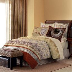 Bombay Dyeing Celebrating India King Bed Sheet Set Beige,King Size Bed Sheets