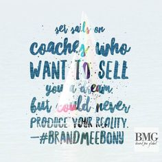 Always focus on what's real and forget the elusions. #BrandMeGlobal #Truth #Coach