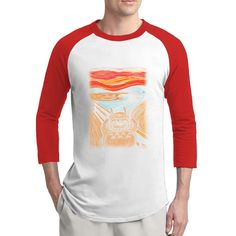 Munch's Neighbor Male Nice Baseball Jerseys Cool T Shirts T Shirt -- Awesome products selected by Anna Churchill