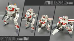 LEGO CUUSOO | Macross VF-1 Valkyrie +Fast pack / Armored parts