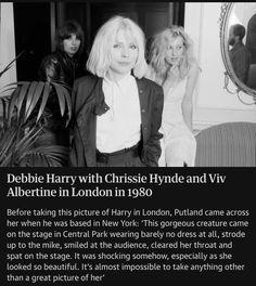 Chrissie Hynde, Debbie Harry, Central Park, Einstein, London, London England