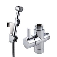 KES Warm Water Handheld Bidet for Shower with 3-Way Diverter, 59-Inch Stainless Steel Hose Diaper Sprayer Shattaf, Polished Chrome, LP900 PV9 * You can get more details by clicking on the image.