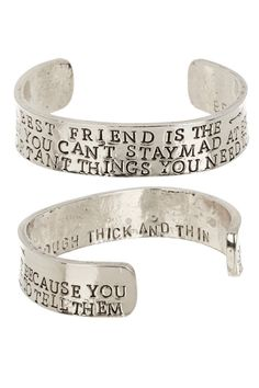 """Best Friends"" Cuff by Alisa Michelle on @HauteLook"