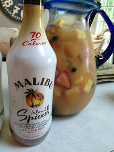 Low calorie Malibu Sangria