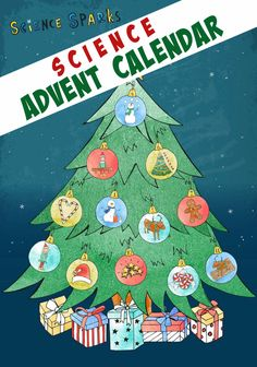 12 Days of Christmas Science fun with the brand new Science Sparks Advent Calendar! Science Experiments Kids, Preschool Science Activities, Science Projects For Kids, Christmas Activities For Kids, Science Fair, Science For Kids, Kids Christmas, Kindergarten Christmas, Primary Science