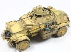 sd.kfz 222 a painting of DAK(hobbyboss) | Military Modelling
