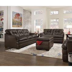 Simmons Upholstery Apollo Sofa Set   from hayneedle.com