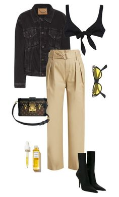 """Week ahead"" by deborarosa ❤ liked on Polyvore featuring Balenciaga, Marc by Marc Jacobs, Louis Vuitton and Gucci"