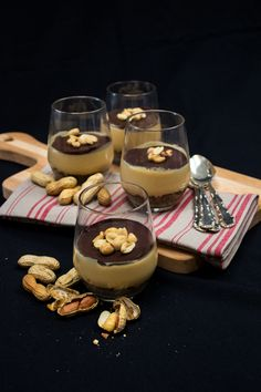 Chocolate Peanut Butter Pudding: indulge your sweet tooth with this riff on a peanut butter cup (vegan).
