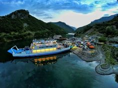 Komani Lake Ferry, Koman - Fierzë   Community Post: Some Incredibly Beautiful Places To Visit In Albania