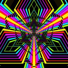 Geometric Patterns animated gif gifs hypnotic trippy  hexeosis