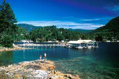 GARDEN Bay, Sunshine Coast, British Columbia, Canada.