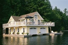 Muskoka dream boathouse