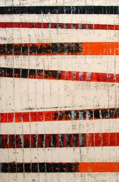 Revealed #14, oil and wax on paper, 44x30, 2009 Glovaski
