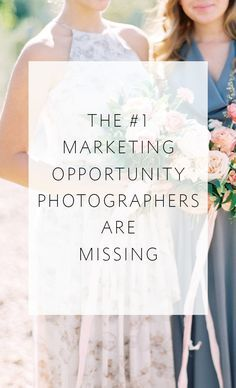 This simple step is a HUGE marketing opportunity for wedding photographers. Are you one of the photographers who is missing out?