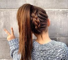 for school Hair Styles For School Beautiful Hairstyles for School - Adorable Fall, Summer T. Hair Styles For School Beautiful Hairstyles for School - Adorable Fall, Summer Time Hairstyle Easy Hairstyles For School, Cute Hairstyles For Teens, Teen Girl Hairstyles, Super Easy Hairstyles, Hair Ideas For School, Easy Summer Hairstyles, Cute Cheer Hairstyles, Hair Styles For Long Hair For School, Easy Casual Hairstyles