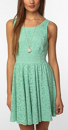 Birthday Party Mint Blue Lace Dress Mint green Lace and Colors
