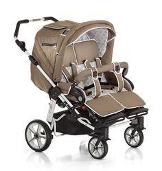 double dorjan twin tandem duo pram pushchair stroller buggy car seat 2 babies baby strollers. Black Bedroom Furniture Sets. Home Design Ideas