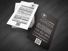 Typography Studio Business Card Design by Lemongraphic , via Behance