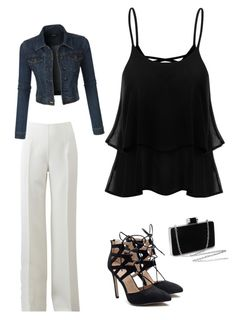 """""""get the party started"""" by ceciliazecchi on Polyvore featuring Michael Kors and LE3NO"""