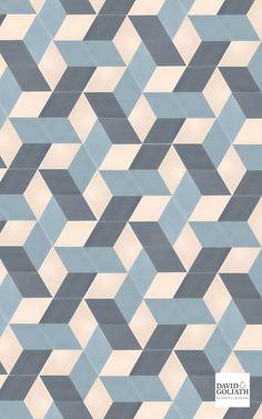 David & Goliath Cement tile Zaza Hexagone 20x20cm