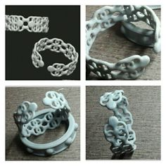 From concept to real world! #3dPrinting #3dPrint #3dPrinted #Jewelry #bracelet #cuff #bangle #3d #design #art #zbrush