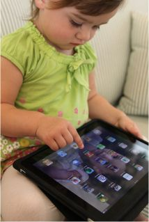 Ways to use an iPad with young children