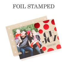 Joyful Glow Photo Holiday Cards
