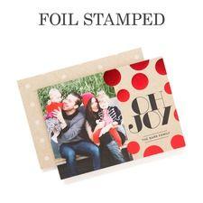 Joyful Glow Photo Holiday Cards